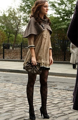 The Glam Guide: Blair's Lace Stockings in Gossip Girl