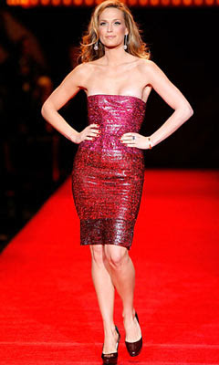 The Glam Guide Heart Truth Red Dress Runway