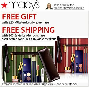 The Glam Guide: Estee Lauder Free Gift With Purchase at Macy's