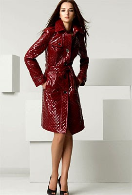 The Glam Guide: Burberry London Quilted Belted Patent ...