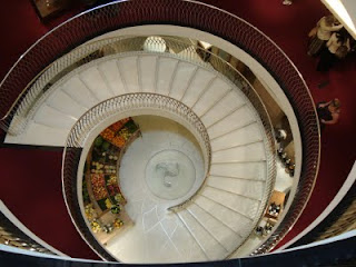 Fortnum and Mason stairwell