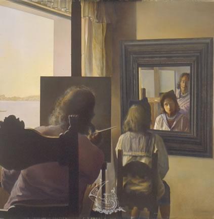 De todo un poco pinturas de dal - Cuadros de espejo ...