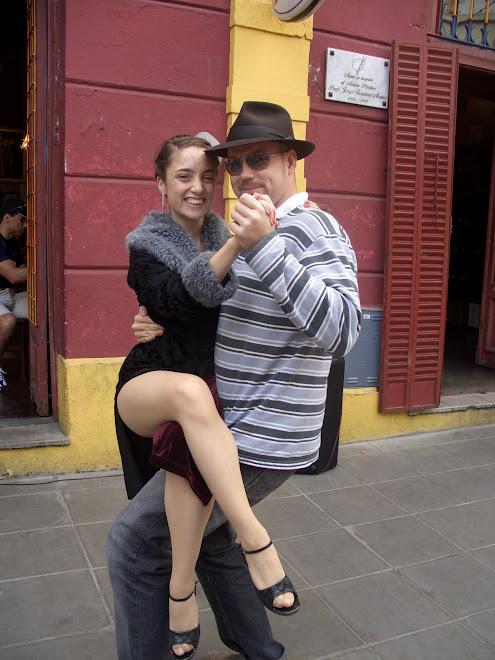 Arnd beim Tango