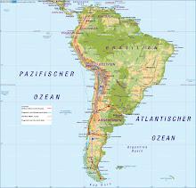 Route der Südamerikareise