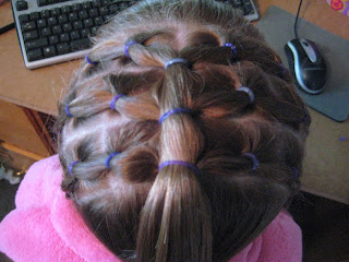 Rows of Three | Cute Hairstyles - Step 9
