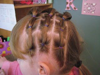 Rows of Three | Cute Hairstyles - Step 6