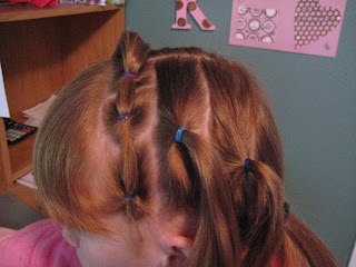 Rows of Three | Cute Hairstyles - Step 4