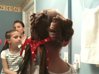 Back view of XO (Hug & Kiss) Hairstyle