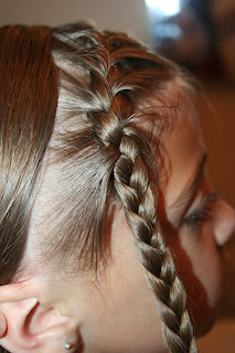 Back To School Hairdo French Quot Doubled Up Quot Braids Cute
