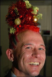 Red tree hair