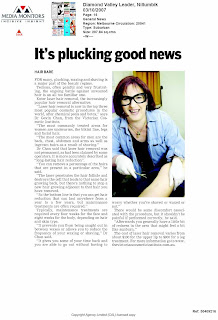 Leader newspaper article featuring Dr Gavin Chan
