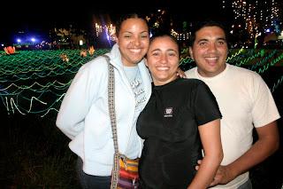 Luz Maria's niece, Romina, Wuendy and Jesus