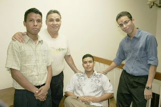 Juan Carlos Selva, Carlos Andreu, Sergio Maita and Eduardo Flores