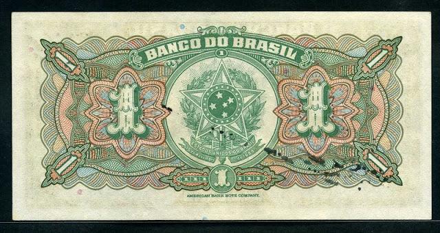Notafilia Numismática Mil Reis banknote