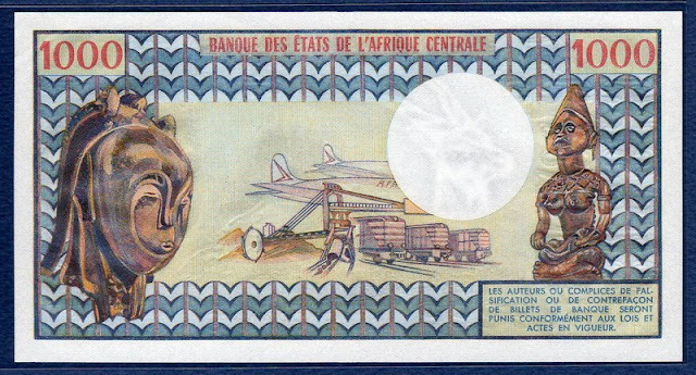 Cameroun 1000 Francs banknote