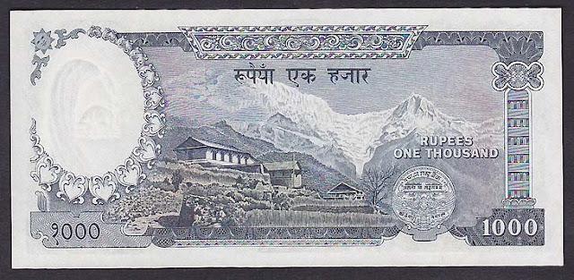 Nepal 1000 Rupees