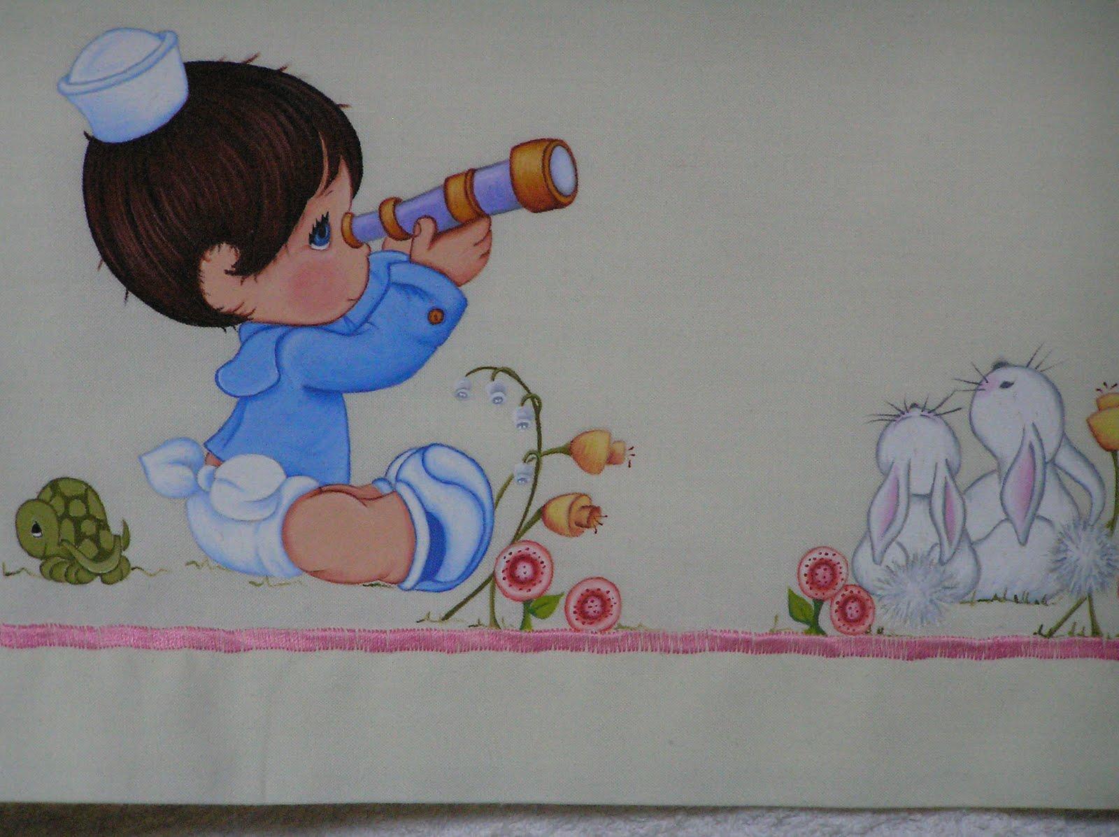 Todo color bebita bonita - Dibujos para pintar en tela infantiles ...