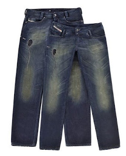 c09efab3 In celebration of its 30th birthday, Italian denim label Diesel is giving  its customers a present: limited edition Dirty Thirty jeans (in Diesel's  popular ...