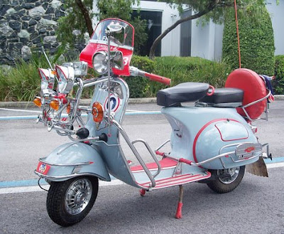 Vespa Motor Scooters | Scooters | Motorscooters