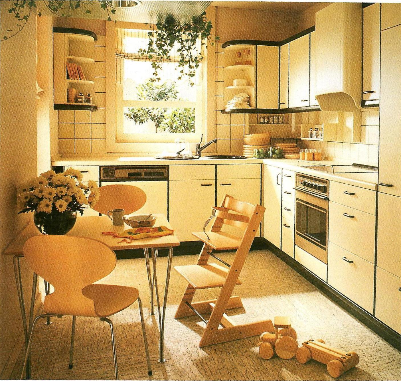 80 Kitchen Design Remodeling Ideas: The Fantasy Decorator: The Retro Decorator