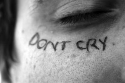 dont cry