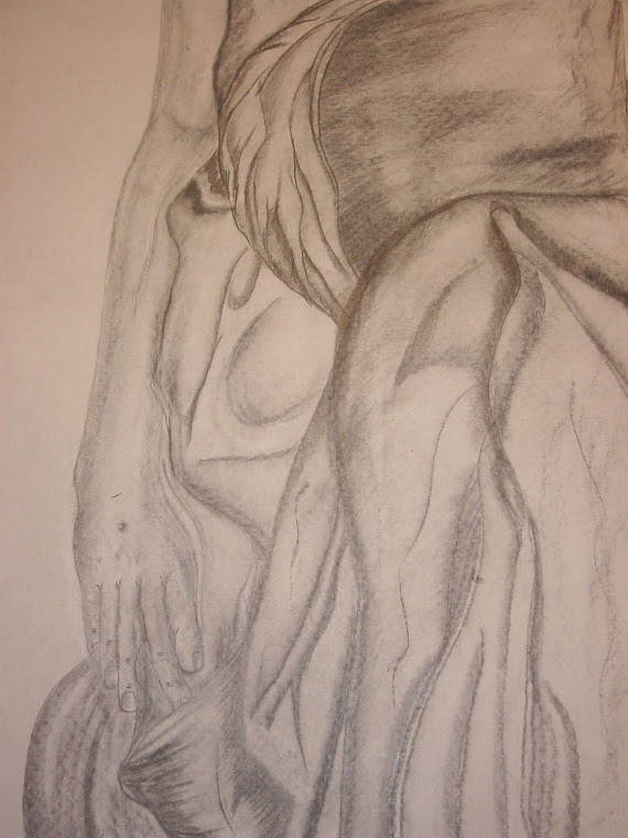 Pietá - Maos de Jesus (Michelangelo)
