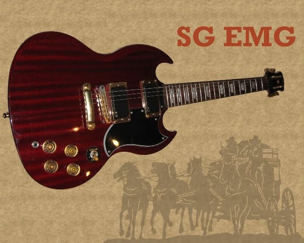 Stage Robber S Gear Epiphone Sg Emg Here Come The Horns