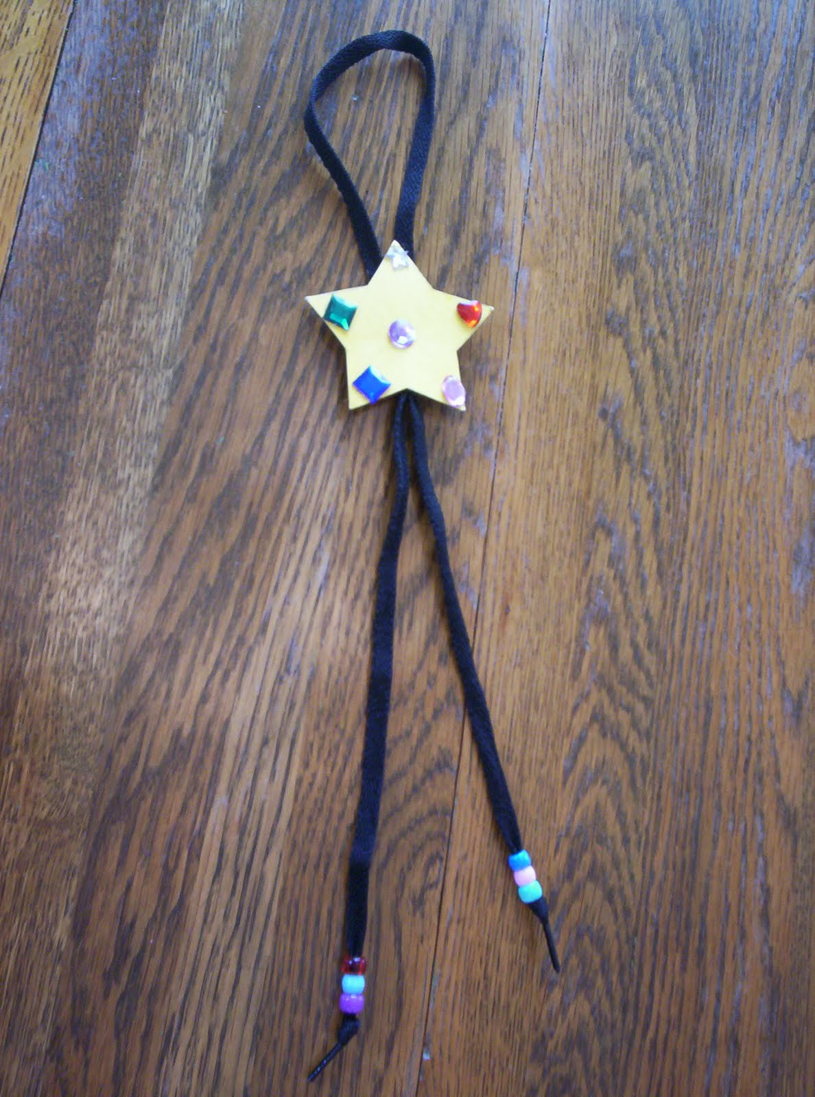 Almost Unschoolers Kids Bolo Tie Craft For Father S Day