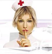A que está guapa la enfermera? :P
