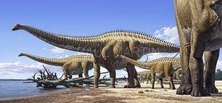 Resultado de imagen para sauropodos manada