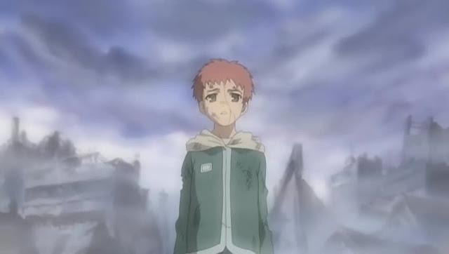 Shirou de niño hace 10 años.