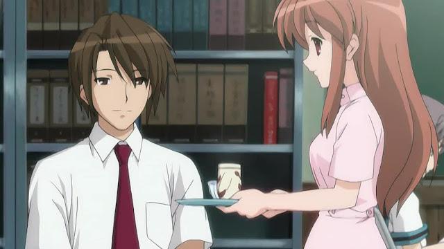 Asahina-san como enfermera.