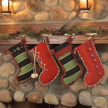 moldes navideos bota navidea