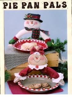 Moldes navide os para manualidades en fieltro - Manualidades munecos de navidad ...