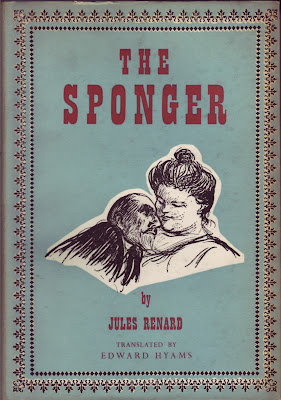 Cover of The Sponger, 1957 English translation of L'Ecornifleur by Jules Renard