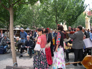 Gypsies in Old Town Square