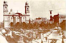 Plaza Constitución en 1913