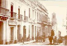 Calle Zabala en 1885
