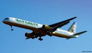 Fotos del avion de Maiden