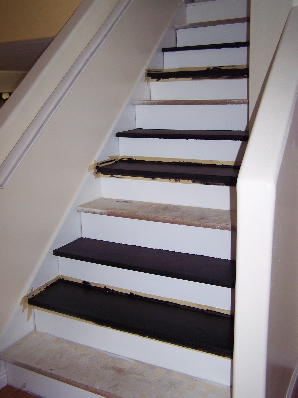 Cucumbers & Vinegar: Home Stairs REDO Project