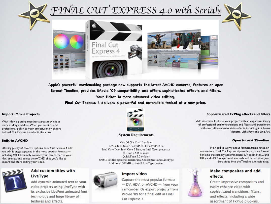How to get final cut pro x 10. 3 for free [no torrents required].