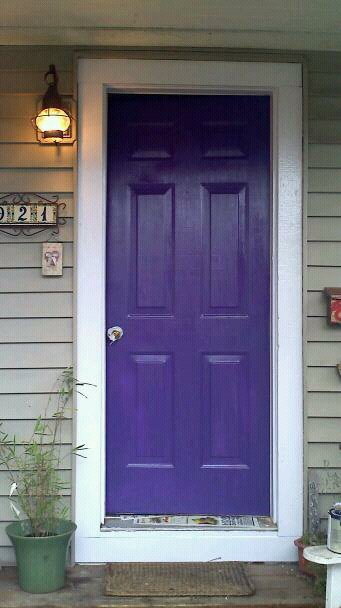 Vestella 39 s vale purple door feng shui - Feng shui exterior house paint colors ...