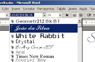 manuscrita 002 280 Fonts Manuscritas: Raridade