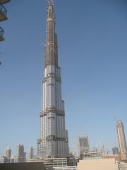 Burj Dubai - 157 Pisos