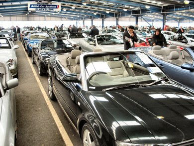 BCA convertible car auction