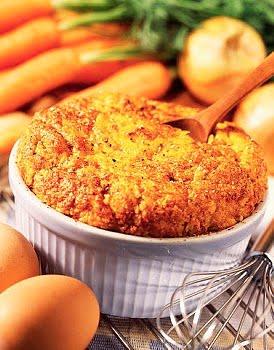 Soufflé de zanahorias