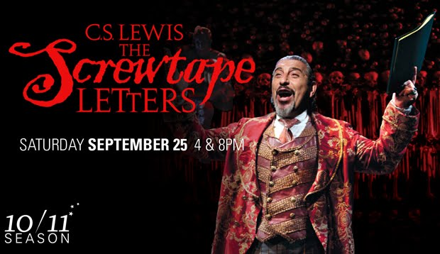 St. Louis Theatre Snob: Touhill Preview: THE SCREWTAPE LETTERS