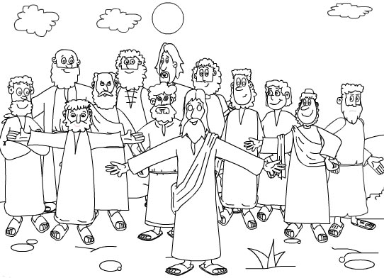 besides  besides  additionally Twelve 20Apostles 7 moreover james john jesus also  further  as well  moreover  together with  besides . on the bible coloring pages apostles arrested