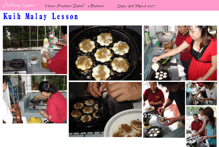 Cooking Lesson (18th March 2007)