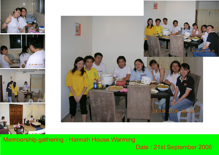 Membership gathering (21st September 2006)